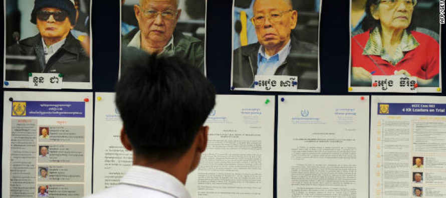 three top Khmer Rouge leaders go on trial