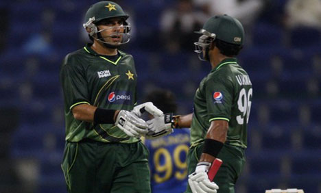 4rth odi match Pakistan take ODI series 4 1 against Sri Lanka