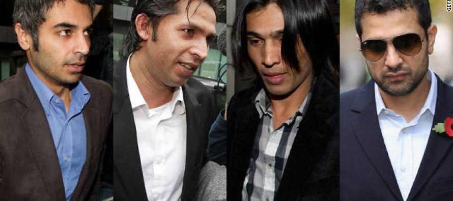 Pakistani cricketers jailed in betting scam