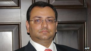cyrus mistry Tata Group names successor to chairman Ratan Tata