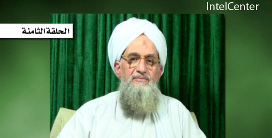 Zawahri 543 Al Qaeda says it is holding US hostage in Pakistan