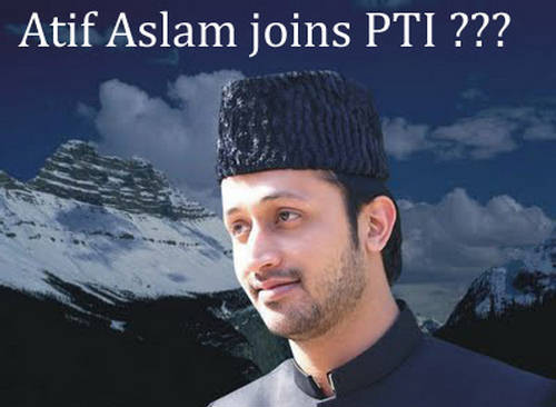 Atif Aslam Joining PTI Imran Khan