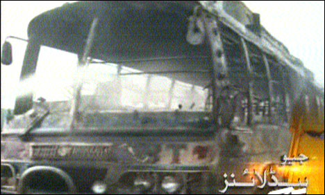 College student dies as bus hits in Faisalabad