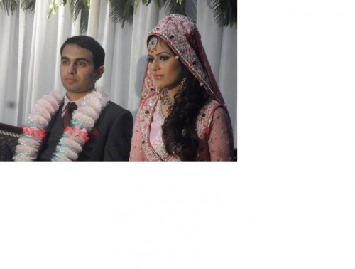AYESHA BAKHSH MARRIAGE PICTURE