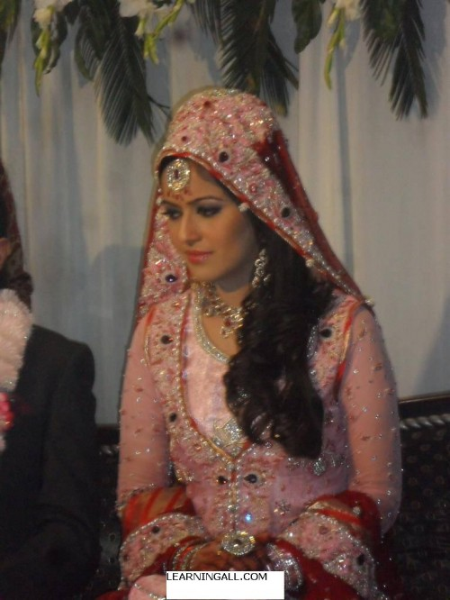 Ayesha Bakhsh Marriage 500x666 Ayesha Bakhsh Marriage Ceremoney