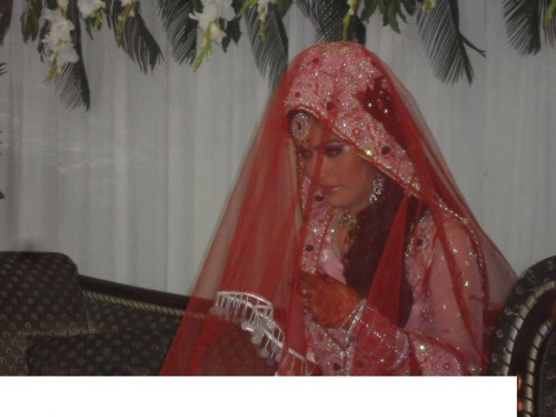 Ayesha Bakhsh Wedding Ceremony 500x375 Ayesha Bakhsh Marriage Ceremoney
