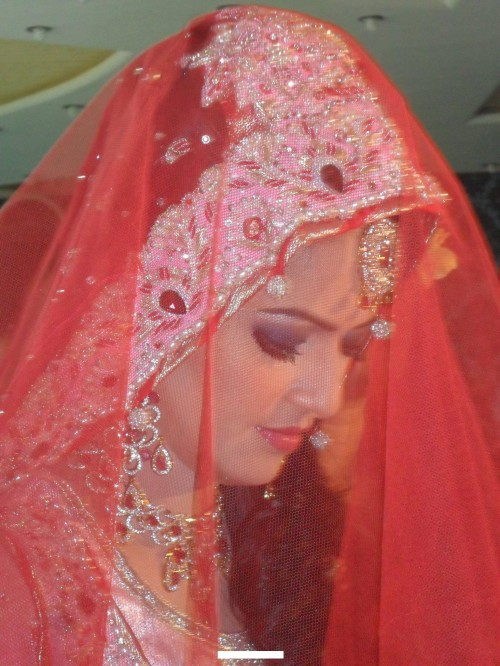 Ayesha Bakhsh Wedding Makeup 500x666 Ayesha Bakhsh Marriage Ceremoney