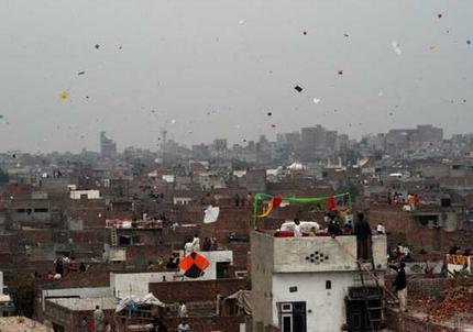 Basant in Lahore Basant in Lahore, Faisalabad, Islamabad 2016 Pakistan