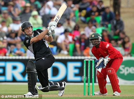 New Zealand beat Zimbabwe New zealand beat Zimbabwe by 7 runs