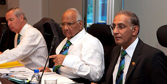 icc meeting ICC Board recommends split role for president