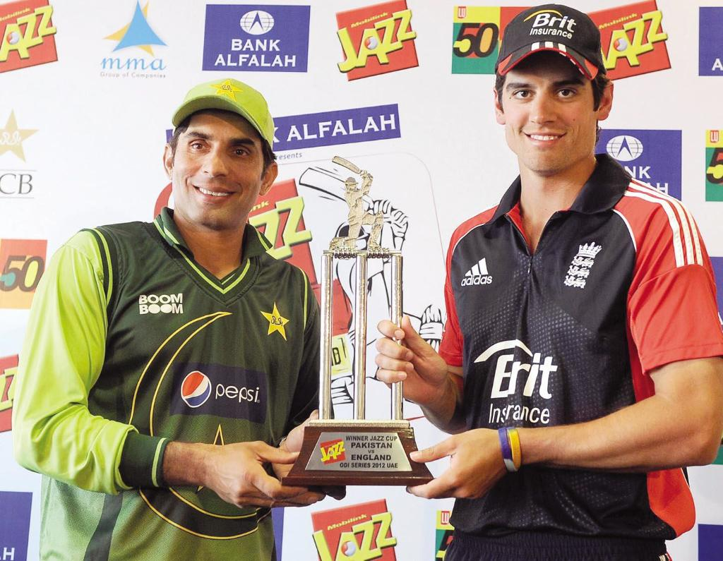 Pakistan vs england odi series 2012
