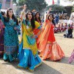 Pakistani girls college Dance picture