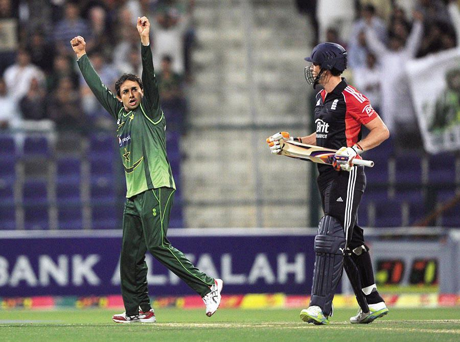 saeed ajmal Pakistan vs England third t20 final 2012 loss due to misbah ul haq