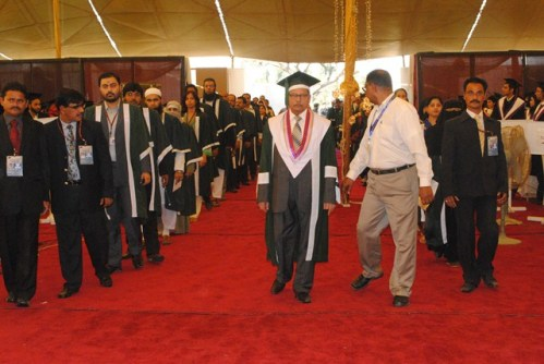 university of karachi convocation present