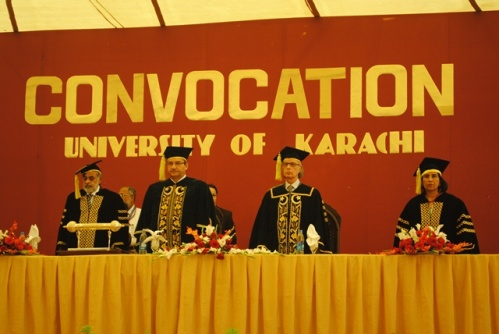 university of karachi convocation setting