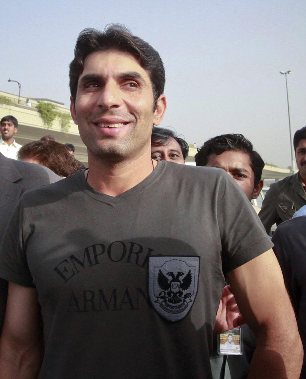 Misbah Ul Haq Picture After Asia Cup 2012 Success