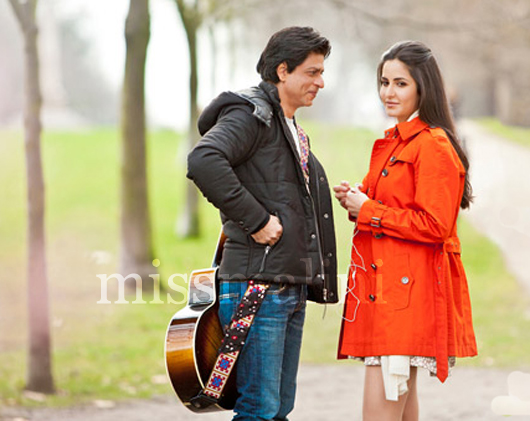 Shah Rukh Khan Katrina Kaif First Look In London Yash Chopra s Next Ishq in London Movie by Shahrukh Khan and Katrina Kaif