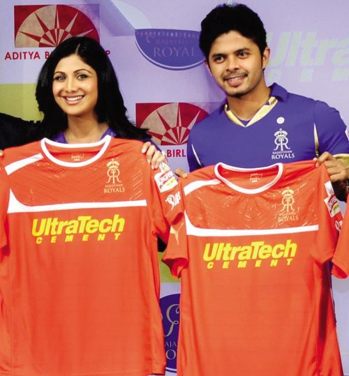Sreesanth And Shilpa Shetty