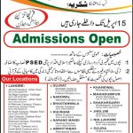 The Right School Pakistan Admissions 2012