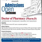 University Of Central Punjab Lahore Admissions 2012