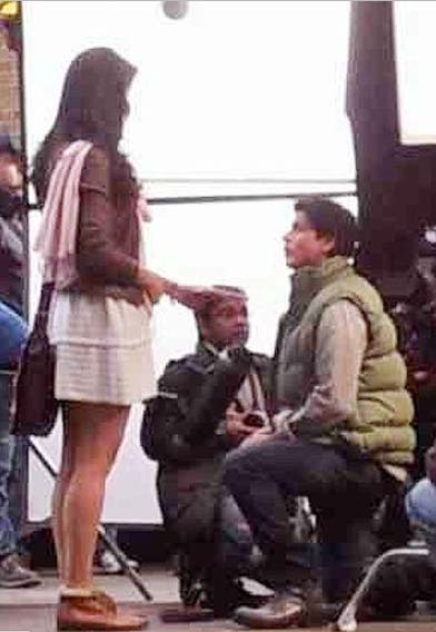 shahrukh katrina new film shoot Ishq in London Movie by Shahrukh Khan and Katrina Kaif