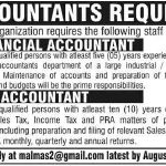 Financial Accountant Jobs in Pakistan