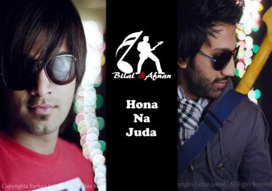Bilal and Afnan Juda Na Hona Song