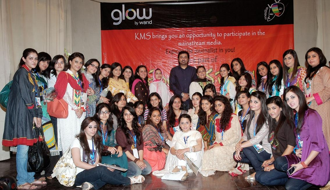 Glow Warid First Media Festival Held in Kinnaird College Glow Warid First Media Festival Held in Kinnaird College