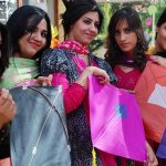 Islamabad College Girls Picture in Basant Mela