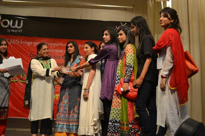 Kinnaird College Glow Warid First Media Festival Held in Kinnaird College
