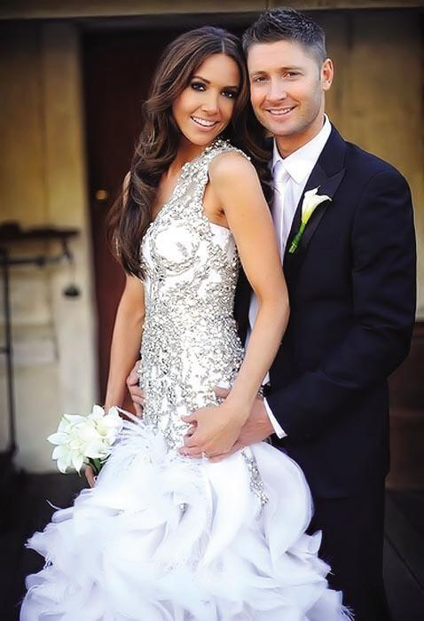 Michael Clarke Australian Cricket Captain Married Picture Michael Clarke Australian Cricket Captain Married Picture