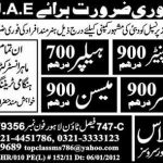 Unskilled Labour Jobs in UAE for Pakistani 2012 150x150 Kuwait MBBS Jobs for Pakistanis 2012