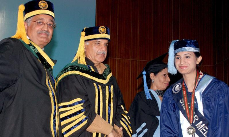 Allama Iqbal Medical College Lahore Convocation 2012