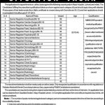 Jobs in Mayo Hospital Lahore Dated 26-June-2012