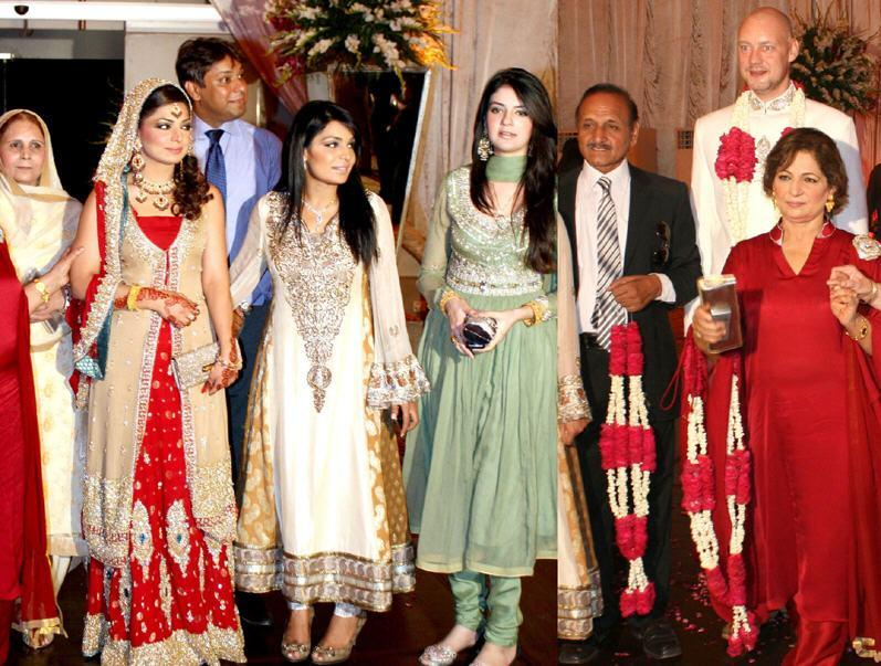Meera Sister aqsa rubab Marriage Ceremony