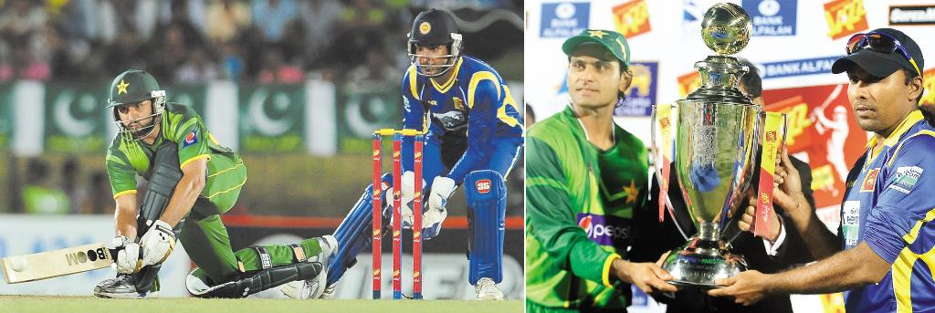 pakistan vs sri lanka1 Pakistan beat Sri Lanka in second T20 international