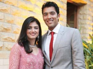 Aisam ul Haq Qureshi Sent Divorce Papers to his Wife Faha Makhdoom 300x225 Aisam ul Haq Qureshi Sent Divorce Papers to his Wife Faha Makhdoom