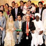 PPP Leader Naveed Chaudhry Son Marriage Ceremony 150x150 Saba Qamar Getting Married After Eid