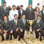 Pakistan Under 19 cricket team Group Photo 2012