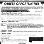 Sukkur Institute of Business Administration Lecturer Jobs 2012
