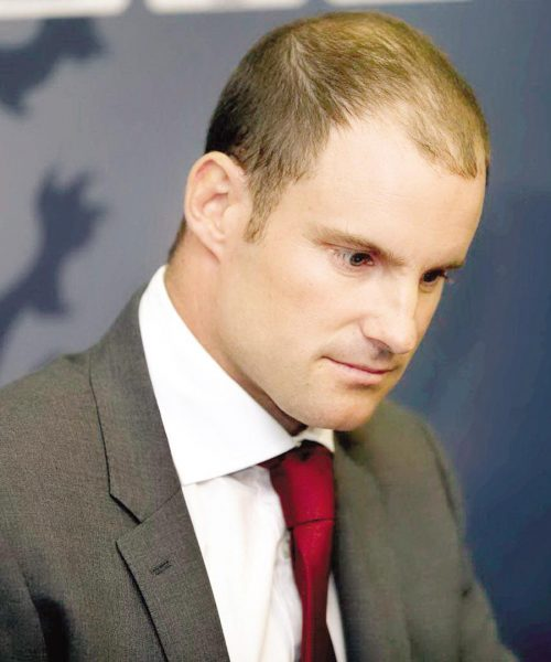 Andrew Strauss Left Cricket