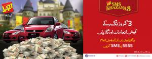 Mobilink Jazz Brings SMS Khazan 8 Offer