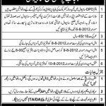 Punjab Police Jobs in District Sahiwal Pakistan