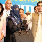 Amina Riaz with Hamza Shahbaz with key of car 150x150 9th Class Result of Lahore Board 2012