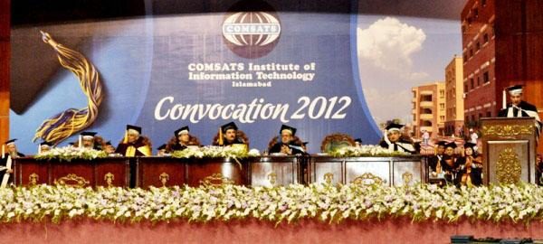 Comsats Institute 46th Convocation held on 16-September-2012