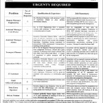 Jobs in Lahore Transport Company September-2012