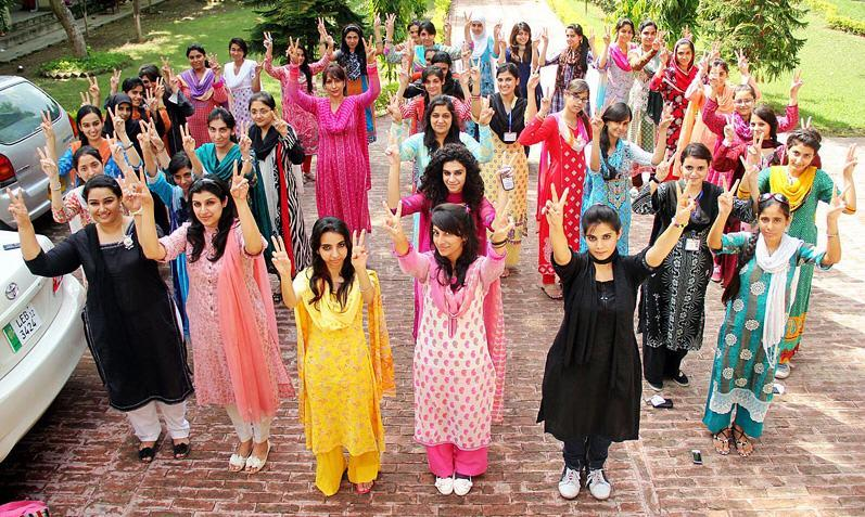 Lahore college for women girls picture Lahore College for Women