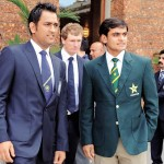 Pakistan T20 Captain Mohammad Hafeez And Indian Cricket Captain Dhoni Picture 150x150 Under 19 Cricket Match Pakistan Vs England