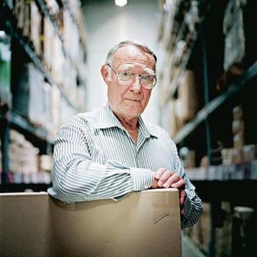 all about ingvar kamprad Ingvar kamprad, founder at flat-pack giant ikea, died this weekend aged 91, and leaves behind him one of the most practical and successful furniture businesses of all.