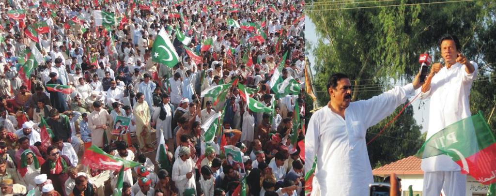 PTI Peace March Islamabad to Waziristan